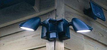 outdoor motion lighting